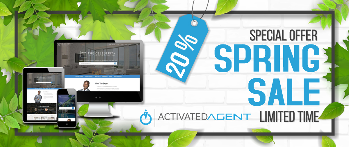 Activated Agent Spring Offer 20% off