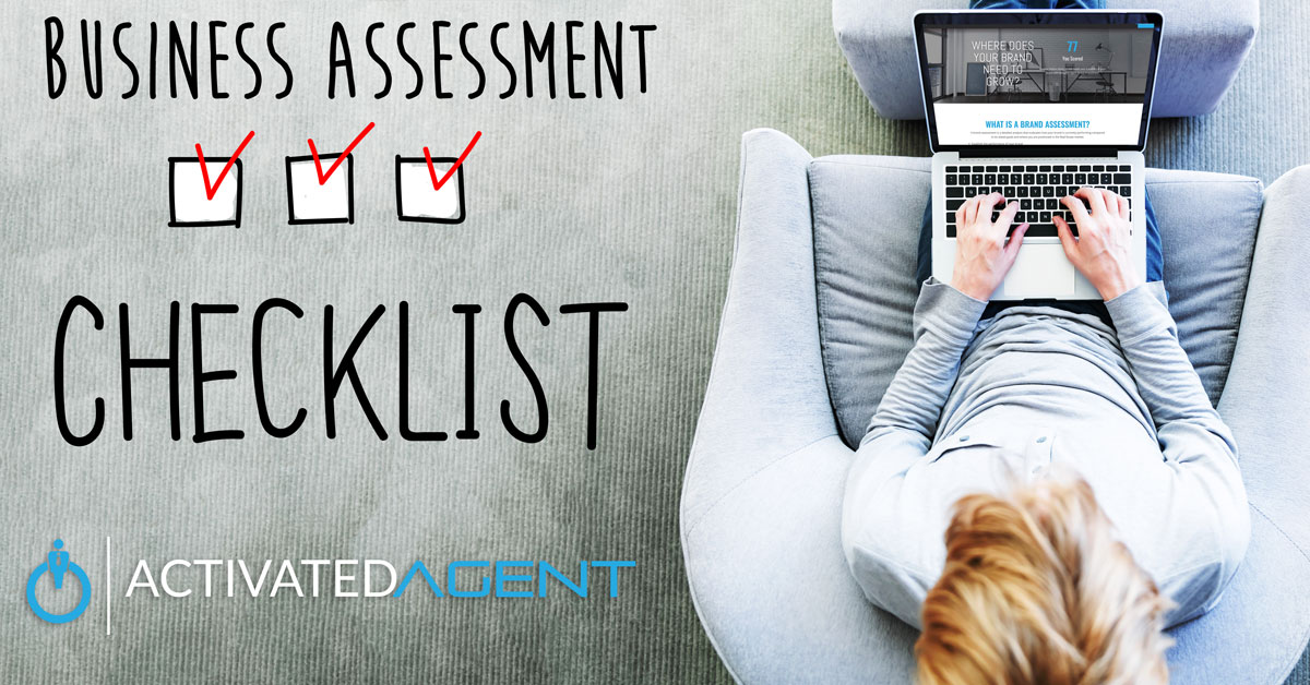 Activated Agent Checklist man using a laptop